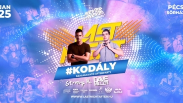 Kodály Szalagavató Afterparty w/ Strong R. • 0125