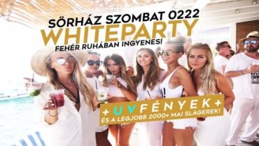 WHITEPARTY & UV testfestés // SÖRHÁZ // 0222szombat
